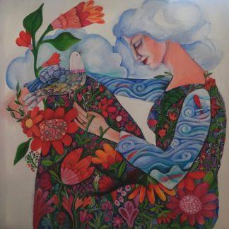 اثر رویا بیژنی | artwork by roya bijani