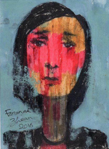 اثر فرانک ژین | artwork by faranak zhean