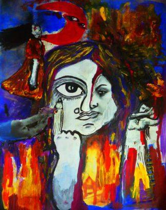 اثر افسانه مسگرزاده | artwork by afsaneh mesgarzadeh