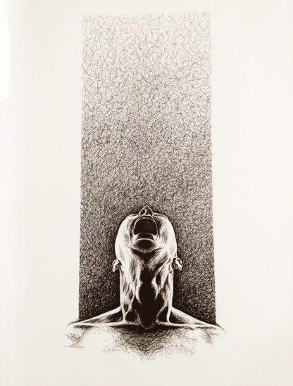 اثر فرزانه اخوان   artwork by farzaneh akhavan