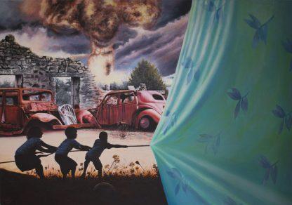 اثر سجاد گمار   artwork by sajad gomar