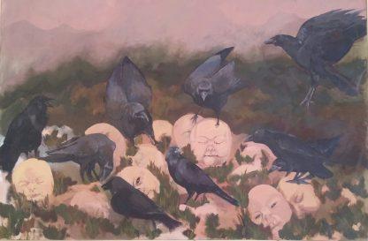 اثر سمیرا کمالی اردکانی   artwork by samira kamali ardakani