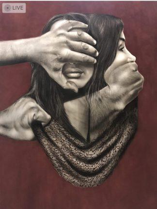 اثر ندا فروغ | artwork by neda forough