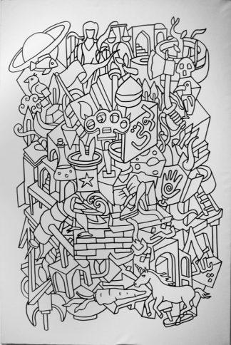 اثر علی پوررضوی   artwork by ali pourrazavi