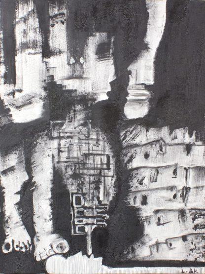 اثر لاله علی خانفام   artwork by laleh alikhanfam