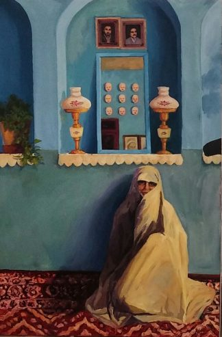 اثر سمیرا کمالی اردکانی | artwork by samira kamali ardakani