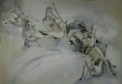 اثر هدیه بهشتی   artwork by hedieh beheshti