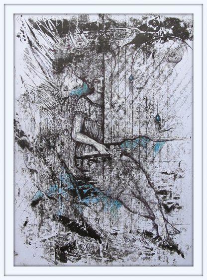 اثر میترا صمدی   artwork by mitra samadi
