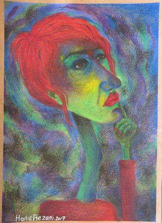 اثر حدیث رضایی | artwork by hadis rezaei