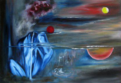 اثر منصوره اشرافی   artwork by mansoureh ashrafi