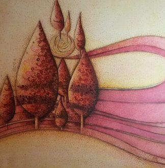 اثر پدیده دهداری   artwork by padideh dehdari