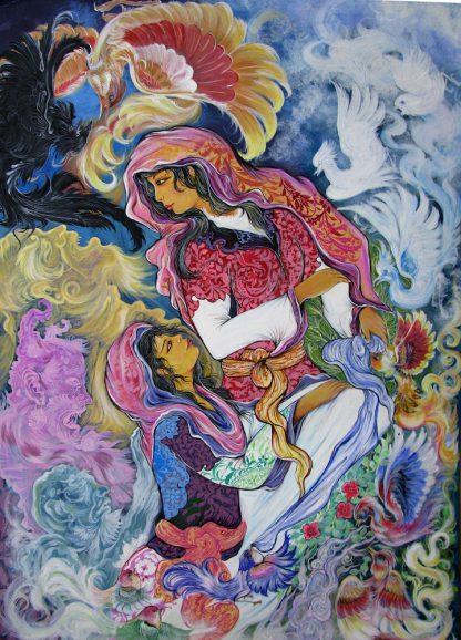 اثر محمدباقر اشرفیان   artwork by mohammad bagher ashrafian