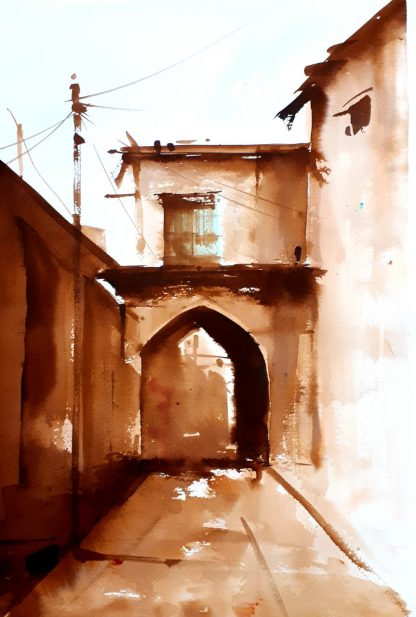 اثر فیروزه بختیاری   artwork by firouzeh bakhtiari
