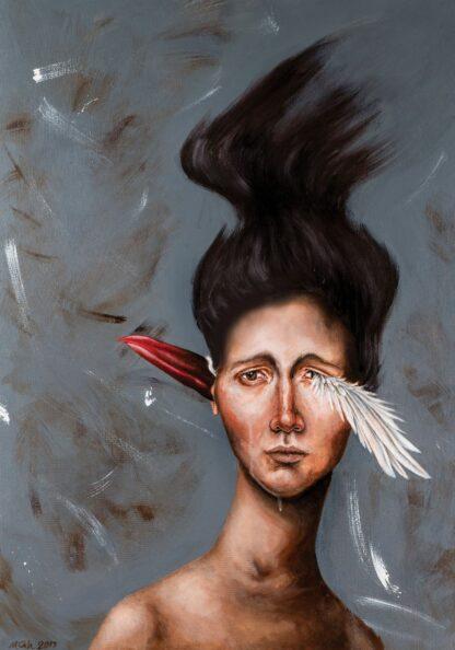 اثر مریم قربانی | artwork by maryam ghorbani