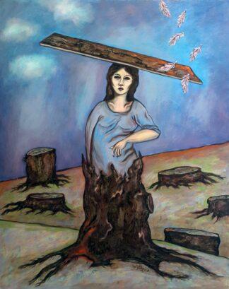 اثر طناز پریشان زاده   artwork by tannaz parishan zadeh