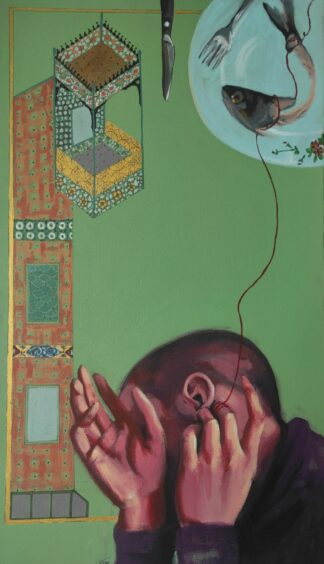 اثر الهام حسین پور | artwork by elham hoseinpour