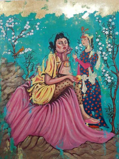 اثر شهرزاد عسکری عالم   artwork by shahrzad askarialam