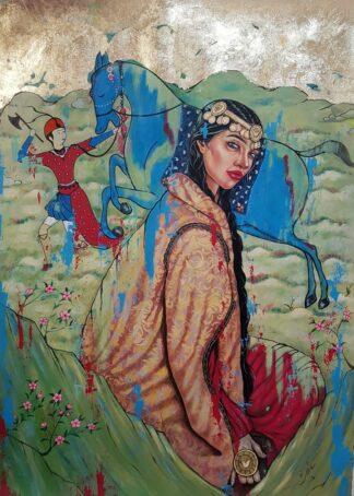 اثر شهرزاد عسکری عالم | artwork by shahrzad askarialam