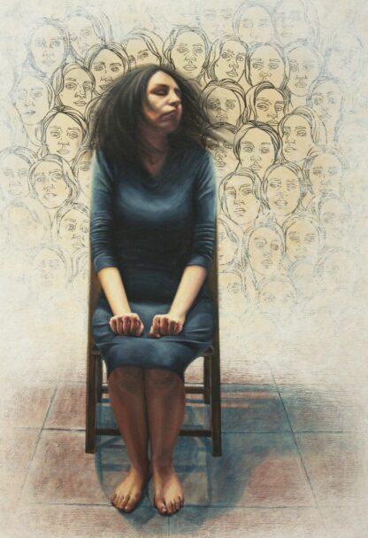 اثر معصومه خدابخشی   artwork by masoume khodabakhshi