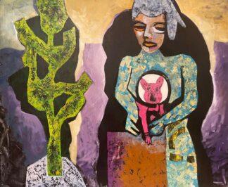 اثر دریسا رحمانیان   artwork by dorisa rahmanian