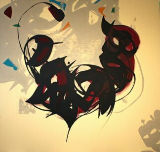 اثر سیده لیلا موسوی   artwork by leila mousavi