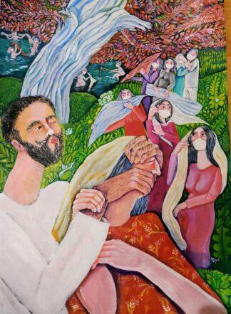 اثر رویا بیژنی   artwork by roya bijani